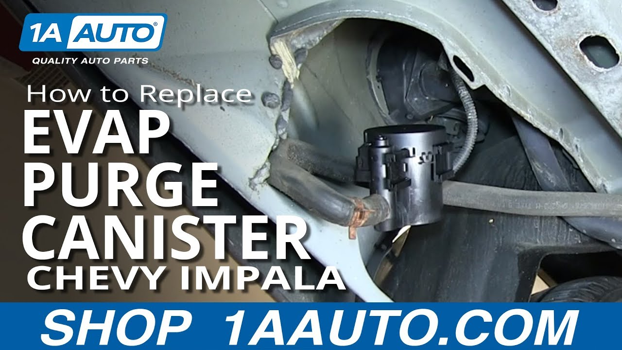 How To Replace Evap Purge Canister 00 06 Chevy Impala