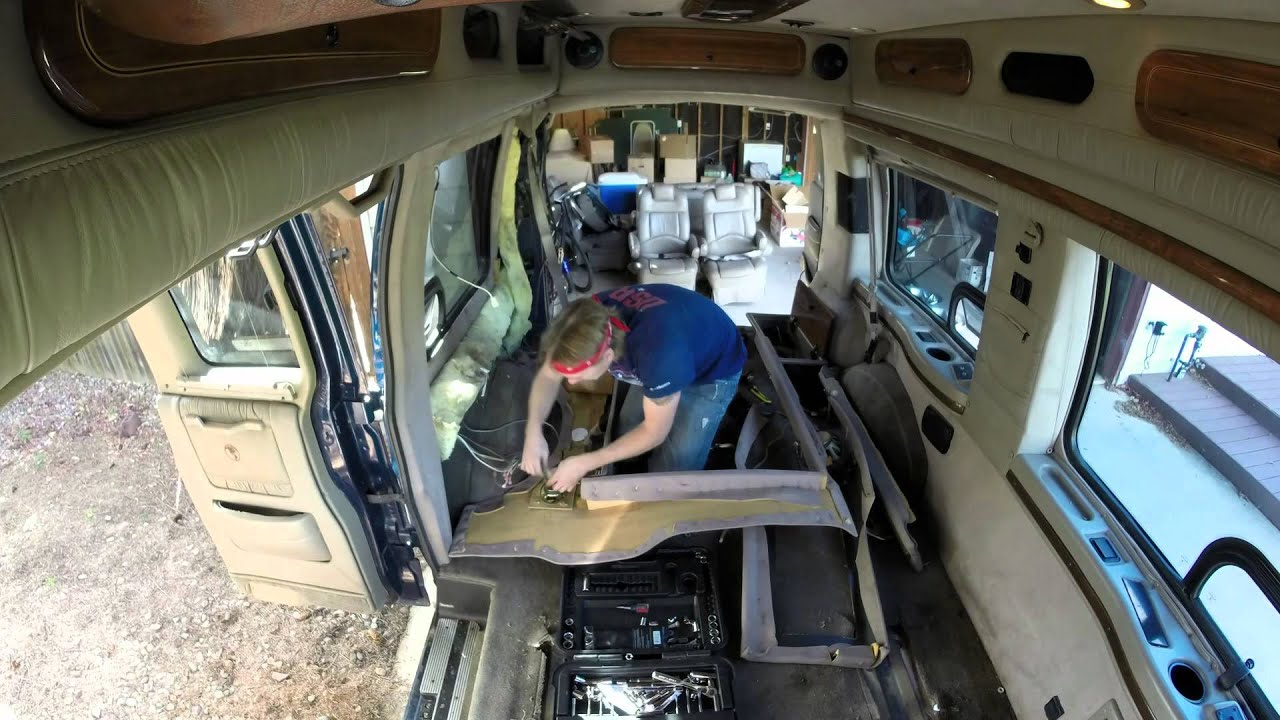 Living In GMC Savana Camper Van VanLife