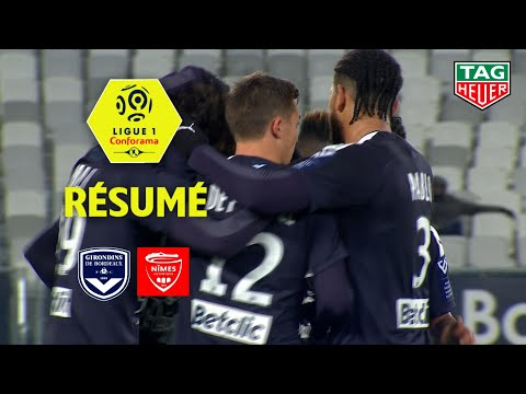 Girondins De Bordeaux - Nîmes Olympique ( 6-0 ) - Résumé - (GdB - NIMES) / 2019-20