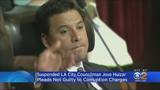 Suspended LA City Councilman Jose Huizar Pleads Not Guilty To Pay-To-Play Scheme