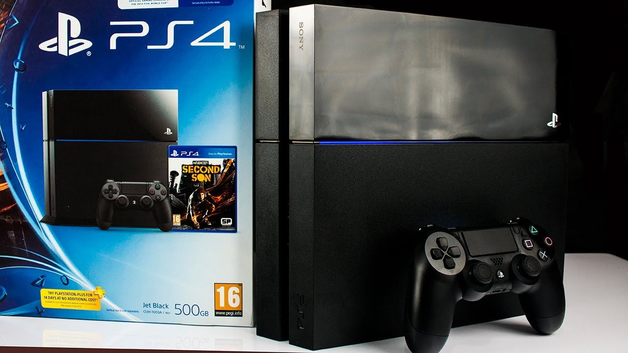 New 2014 Sony Playstation 4 Ps4 Infamous Bundle Epic