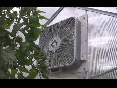 Vote no on diy greenhouse exhaust for 10 inch window fan