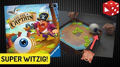 Eye, Eye, Captain (Helmut Punke, Ravensburger 2019) - Super lustiges Kinderspiel ab 4 Jahren