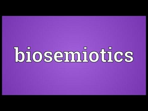 Biosemiotics Meaning