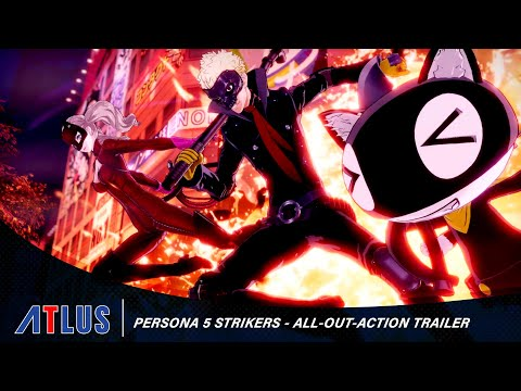 Persona 5 Strikers – All-Out-Action Trailer [DE USK]