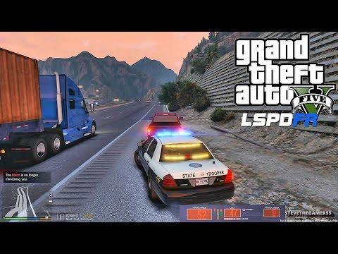 GTA 5 LSPDFR 0.3.1 - EPiSODE 230 - LET'S BE COPS - FLORIDA HIGHWAY PATROL (GTA 5 PC POLICE MODS)