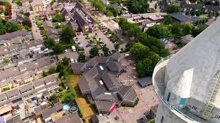 Drone vliegt boven Leerbroek, Meerkerk en Nieuwland [RTV Utrecht]