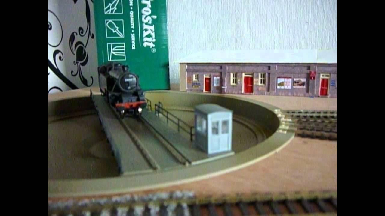 Heljan TT doing a 180 with RR&co Traincontroller