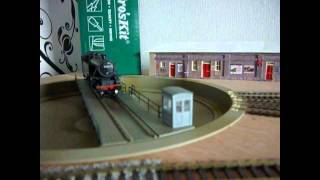 Heljan TT doing a 180 with RR&co Traincontroller