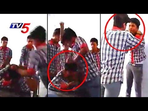 Live Video | Kendriya Vidyalaya Students Fight In Classroom | Bihar | Telugu News | TV5 News