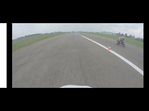 Accelerazione Vespa Falc Racing [cat. C5 GP] Onboard Alex Cacco vs Paolo Sensi (BSG)
