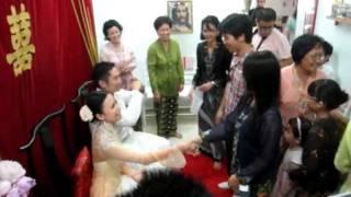 Traditional Peranakan style wedding of Clarine Chan & Benjamin Lim.(fr:chankooncheng)