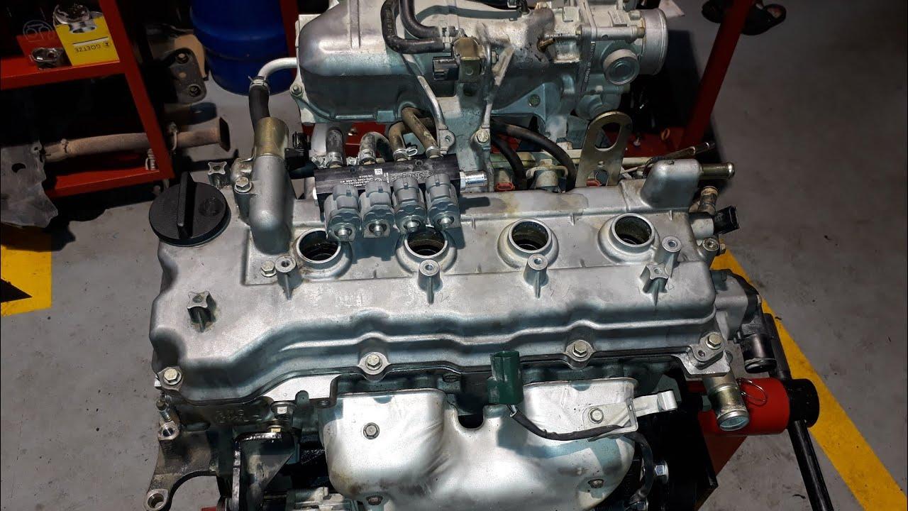 3BİN KM 1LT YAĞ MOTORDA NELER OLUYOR (Nissan QG15 motor toplama )