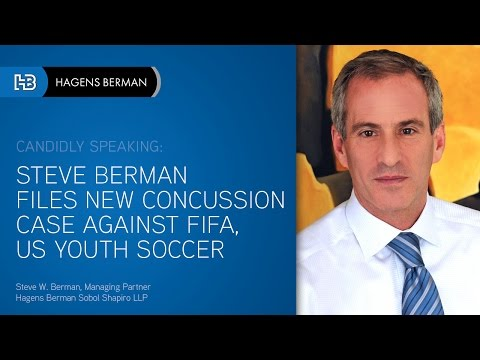 Steve W. Berman Files New Concussion Case Against FIFA, US Youth Soccer