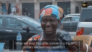 LAGOSIANS REACT  AS SANWO-OLU WINS APC STATE PRIMARY ELECTION (BWE TV VOX POP)