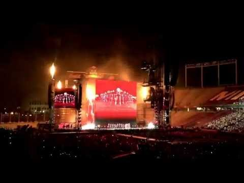 beyonce formation concert Minneapolis 2016
