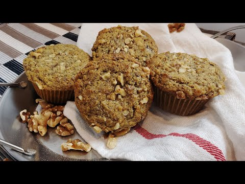 How To Make Keto Banana Nut Muffins | Keto Banana Bread Recipe