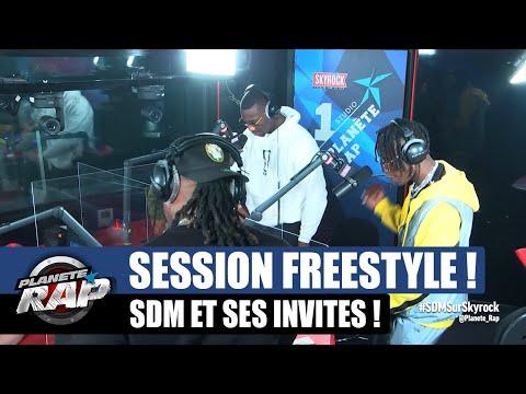 Youtube: SDM – Session freestyle avec Brigi, DMC, Nesrine & Aziz DZ! #PlanèteRap