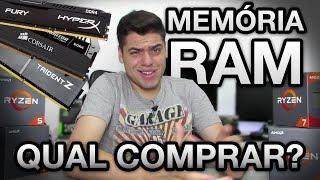MEMÓRIA RAM para RYZEN, qual COMPRAR? Qual é compatível? 2133 ou 3200 MHz? Qual marca escolher?