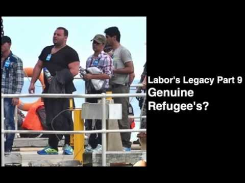 Part 9 Genuine Refugee's? The Illegal arrivals Christmas Island