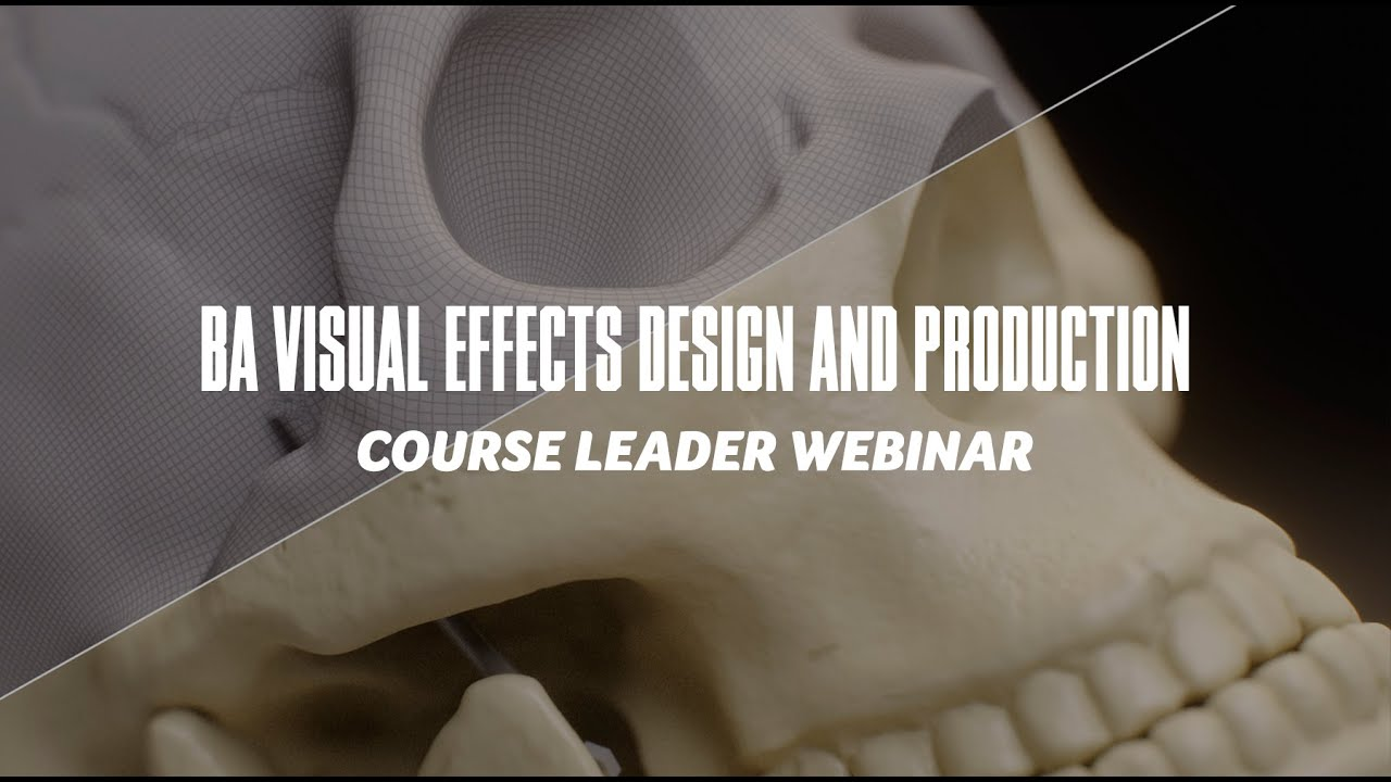 Course Webinar - BA Visual Effects Design and Production