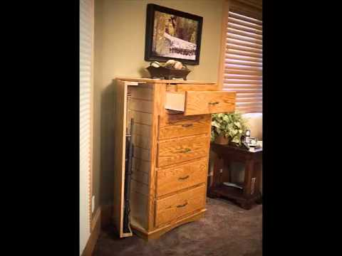 Covert Furnitures Chest Of Drawers With Hidden Compartments YouTube - Bedroom furniture with hidden compartments