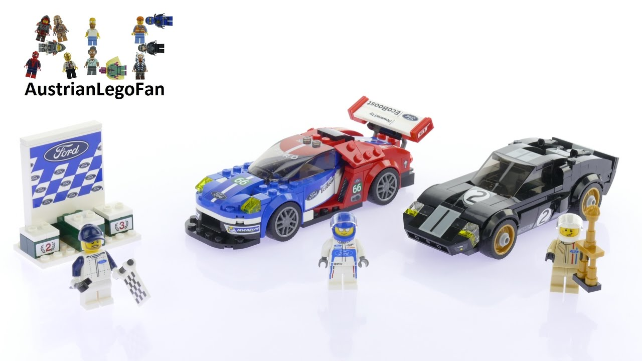 Lego Speed Champions   Ford Gt  Ford Gt Lego Speed Build Review