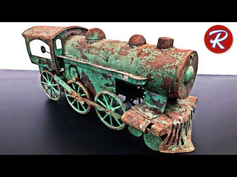 1920s Dayton Toy Train Restoration – Antique Locomotive