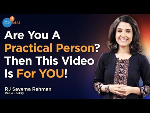 The RJ Sayema Story | From An Ordinary Girl To A Successful RJ | Follow Your Heart | Josh Talks