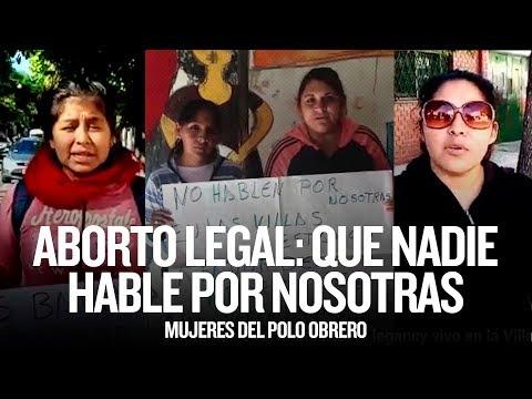 Aborto legal: que nadie hable por nosotras // Mujeres del Polo Obrero