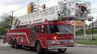 Old And Rare Fire Trucks Responding Compilation Part 24