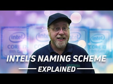 Смотреть Intel's Naming Scheme Explained (i3, i5, i7, i9, Pentium etc) онлайн