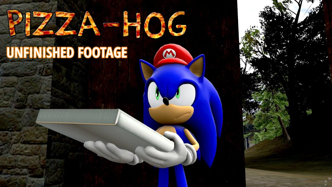 Sonic in Pizza Hog Unfinished Footage SFM YouTube