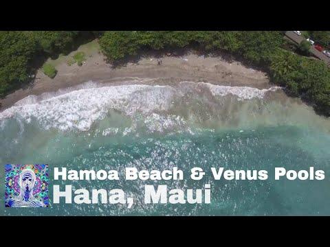 Hamoa Beach and Venus Pools - Hana Maui