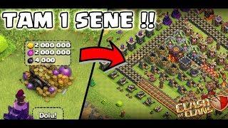 1 SENE KÖYE GİRMESEK NE OLUR ! | Clash Of Clans