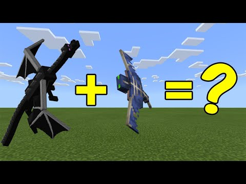 I Combined The Ender Dragon And A Phantom In Minecraft - Here's What Happened...