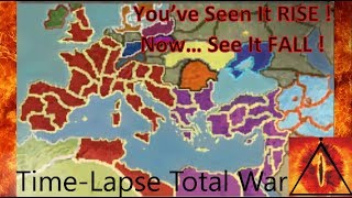 Barbarian Invasion: Rome Total War - TIMELAPSE (A.I. Only)