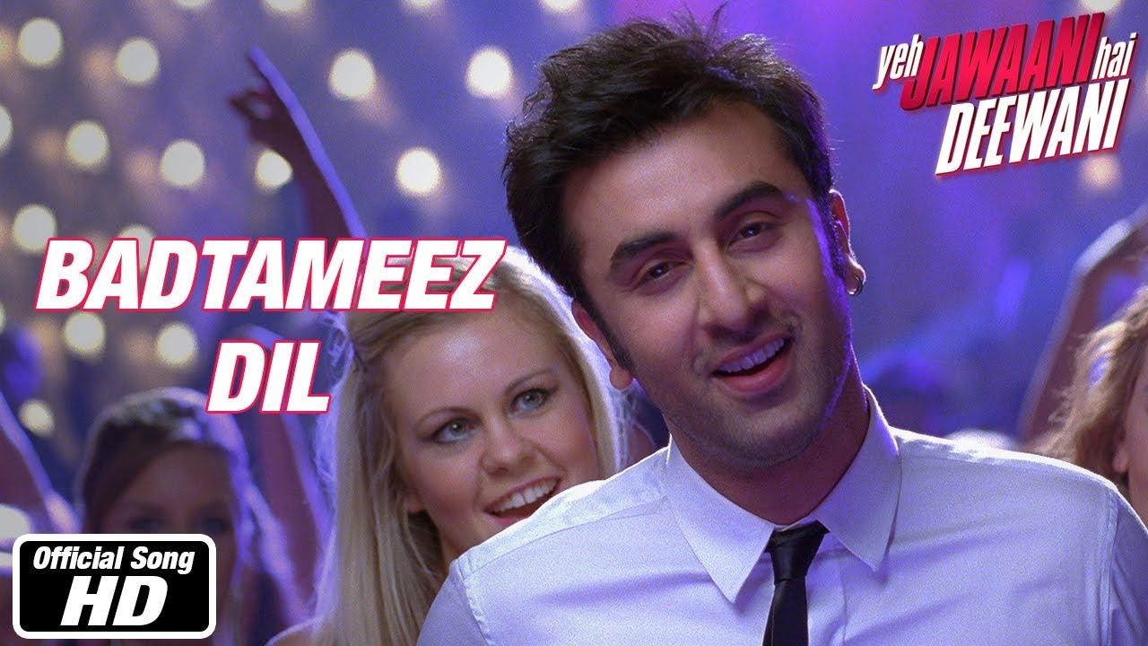 Badtameez Dil Full Song Yeh Jawaani Hai Deewani Ranbir Kapoor