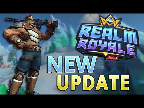 Realm Royale NEW UPDATE (Paladins Battlegrounds)
