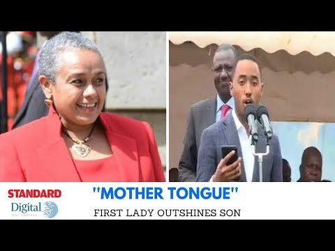 'Mother Tongue' : First Lady vs Son