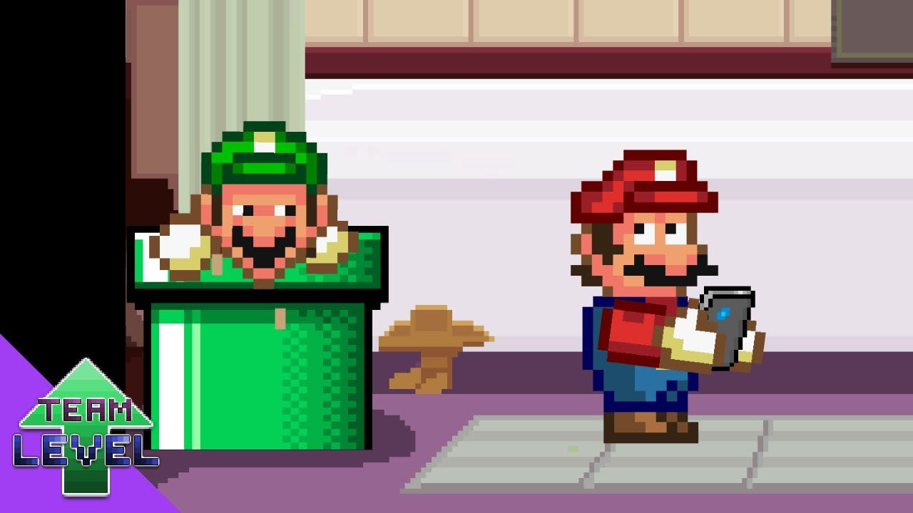 If Mario and Luigi were ACTUAL plumbers