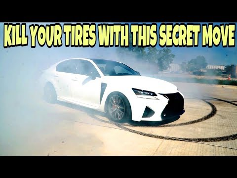LEXUS GSF RCF LC500 PEDAL DANCE HOW TO