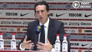 Unai Emery explique la défaite de son PSG contre Monaco (3-1)