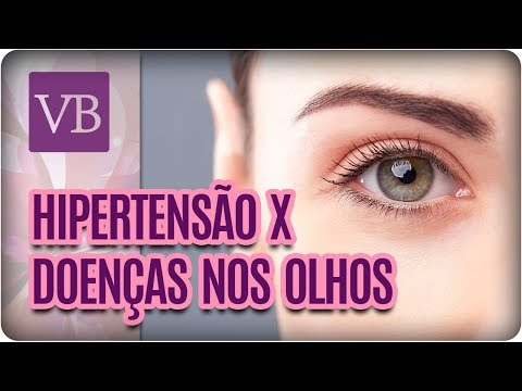 Hipertensão É Silenciosa e Pode Afetar os Olhos - Você Bonita (20/03/18)