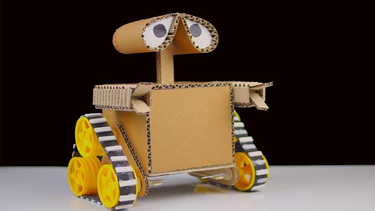 c mo hacer wall e robot de cart n youtube. Black Bedroom Furniture Sets. Home Design Ideas