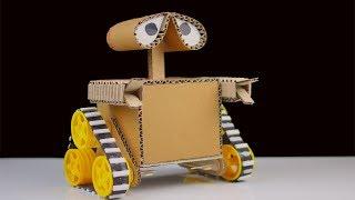 Cómo Hacer Wall-E Robot De Cartón