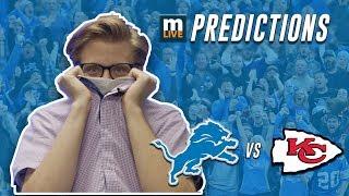 Detroit Lions vs Kansas City Chiefs final score predictions