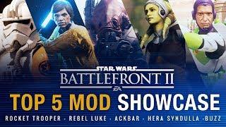 TOP 5 Best Recent Mods #1 | Battlefront 2 Mod Showcase