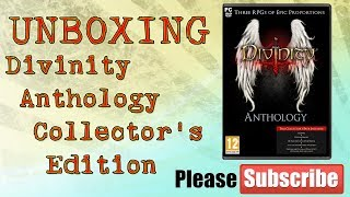 Divinity Anthology Collector's Edition PC - Unboxing [RO]