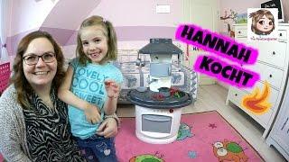 KOCHEN IN DER KINDERKÜCHE 🍽 Hannah bekocht Baby Born Sister und ihre Mama | Smoby Toys